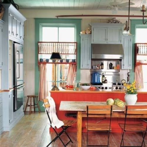 3 Eclectic Kitchen