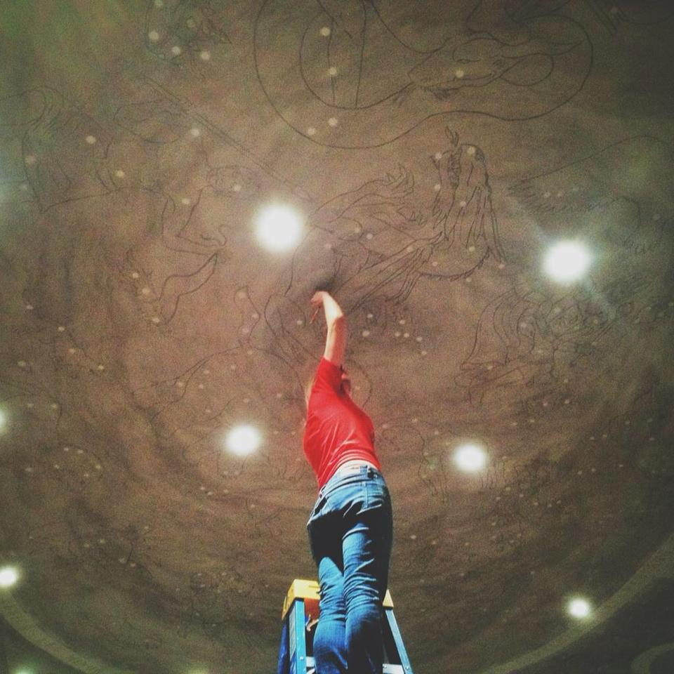 Ceiling Constellation Project
