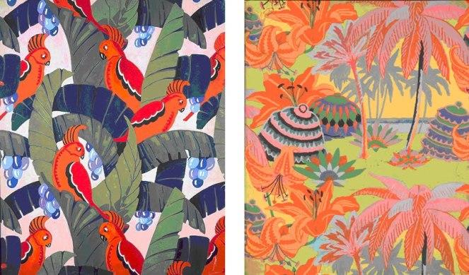 Lois Mailou Jones - Textile design