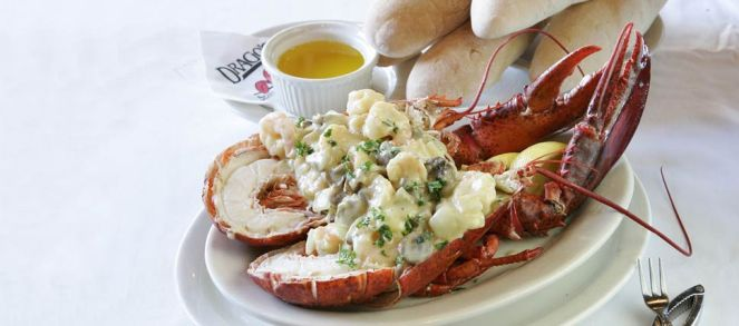 And of course, Seafood at Drago's!