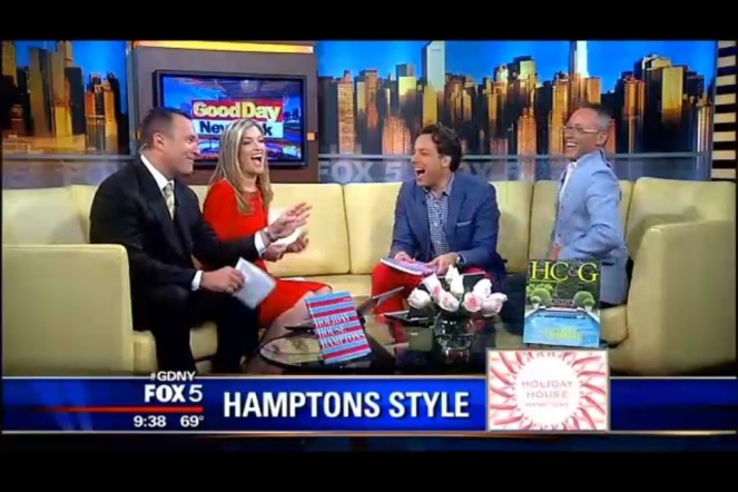 Guillaume talks with Greg Kelly, Kerry Drew, and Thom Felicia on Fox 5's Good Day New York!