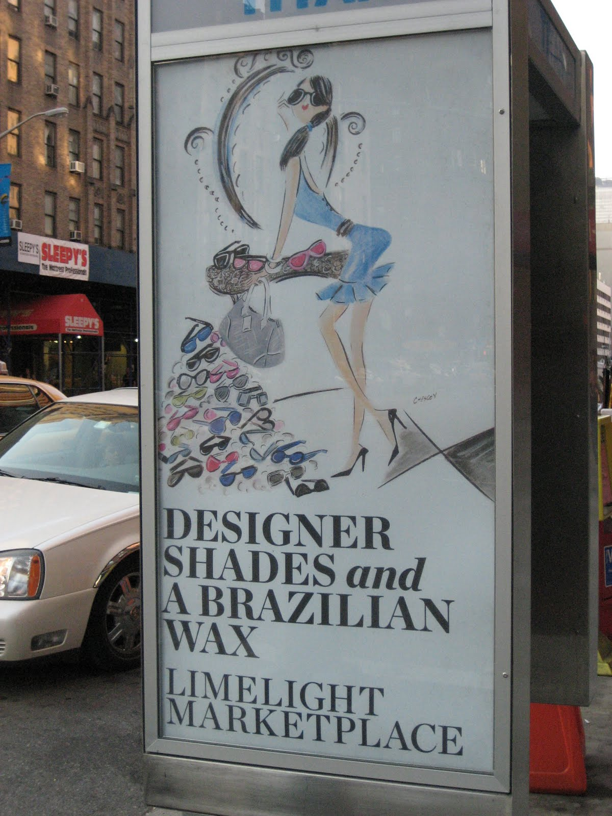 Advertisement for Limelight Marketplace in Chelsea, NYC
